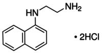 N-1 NAPHTHYL ETHYLENE DIAMINE DIHYDROCHLORIDE LR AR