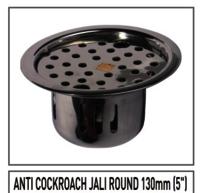 Anti Cockroach Jali Round S.S.