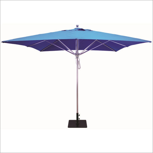 Outdoor Blue Umbrellas