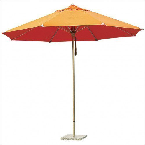 Outdoor Orange Umbrellas