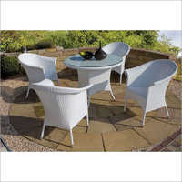 Outdoor Modern Table Chair Set