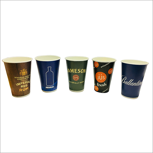 330 ml Printed Customized Paper Glass
