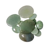Natural Energised Stone Green Aventurine Cabochon For Spirituality & Peace of Mind & Self Confidance