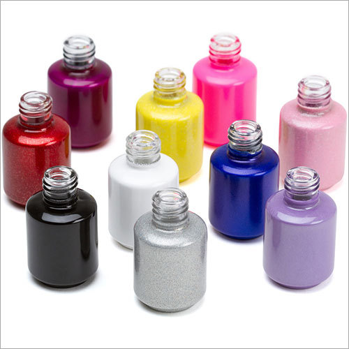 Round Nail Polish Glass Bottles