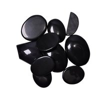 Natural Energised Stone Black Obsidian Cabochon For Spirituality & Peace of Mind & Self Confidance