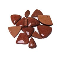 Natural Energised Stone Red Sunstone Cabochon For Spirituality & Peace of Mind & Self Confidance