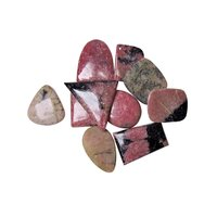 Natural Energised Stone Rhodonite Cabochon For Spirituality & Peace of Mind & Self Confidance