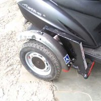 side wheel attachment