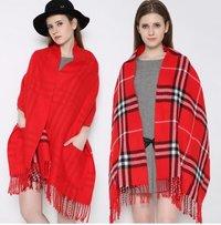 Woolen Ladies Shawls
