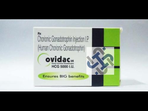 Ovidac Human chorionic gonadotropin hCG 5000IU Injection