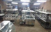 Industrial Canteen Kitchen Equipment's & Cafeteria Kitchen