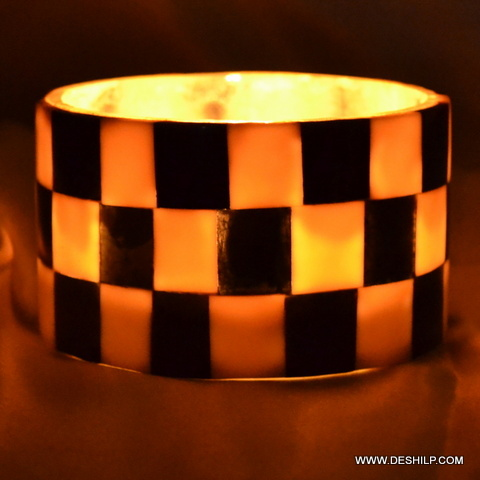 T LIGHT CANDLE HOLDER CHASE DESIGN