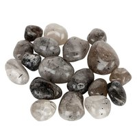 Natural Energised Tourmaline Quartz Tumble stone