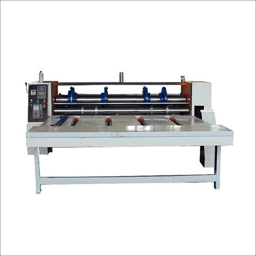Chain Feeding Rotary Creaser Slotter Machine