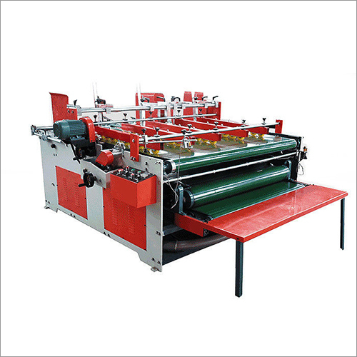 Pressure Folder Gluer Machine