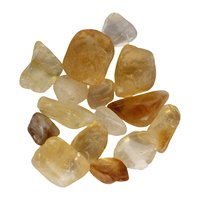 Natural Energised Citrine Healing Tumblestone