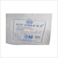 Absorbent Soft Cotton Gauze Swab