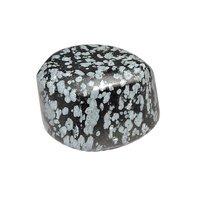 Natural Energised Snowflake Obsidian Tumble Stone