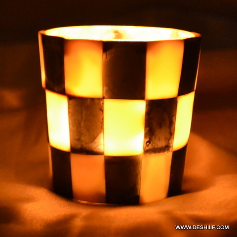 CHASE DESIGN CANDLE HOLDER