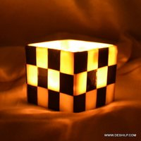 SMALLEST GLASS T LIGHT CANDLE HOLDER