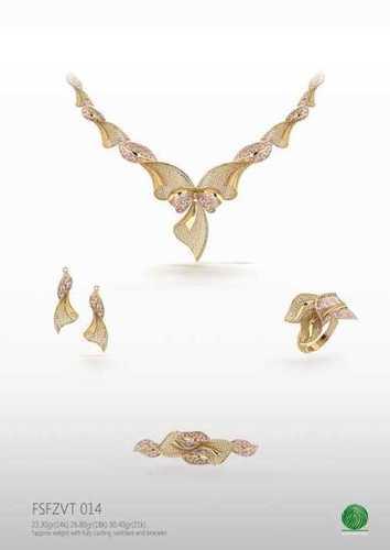Turky gold necklace set