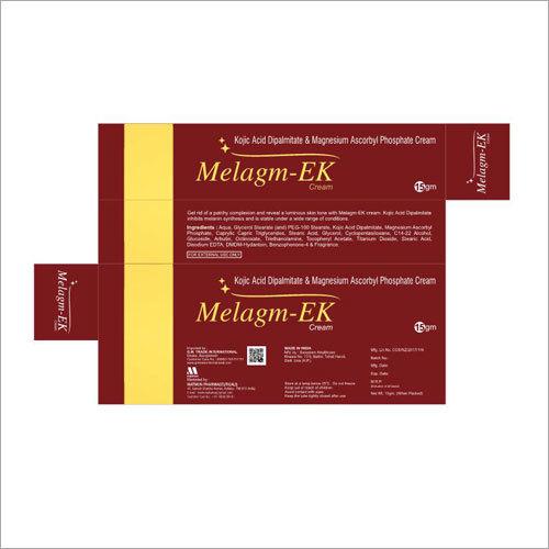 Kojic Acid Dipalmitate & Magnesium Ascorbyl Phosphate Cream