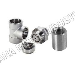 Nickel Alloy Pipe Tee Fittings