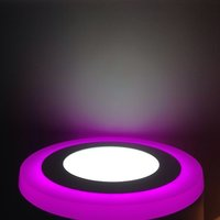 Double Color Slim Led Panel Lights