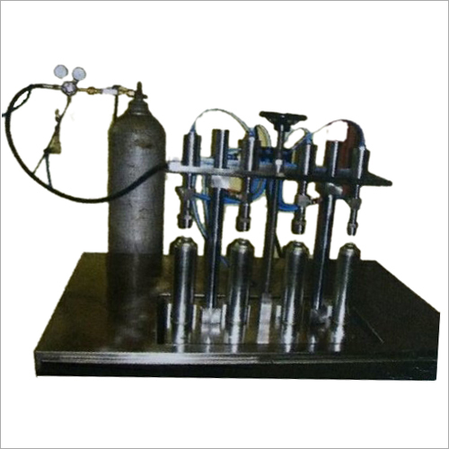 Aerosol Nitrogen Gas Filling Machine