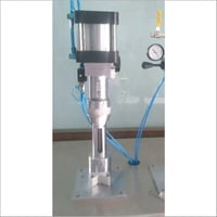 Semi Automatic Aerosol Crimping machine