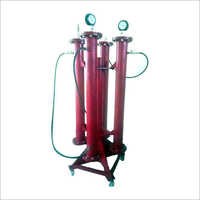 Aerosol Gas Filtration Column