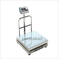 Electronic Platform Weighing Scale-Inbuilt Thermal Printer