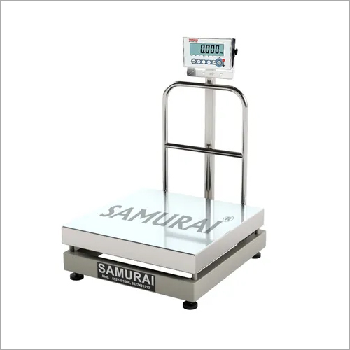 Stainless Steel Platform Weighing Scale with Stainless Steel Console