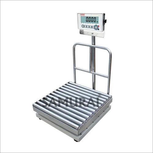 Platform Weighing Scale with SS Roller Platform