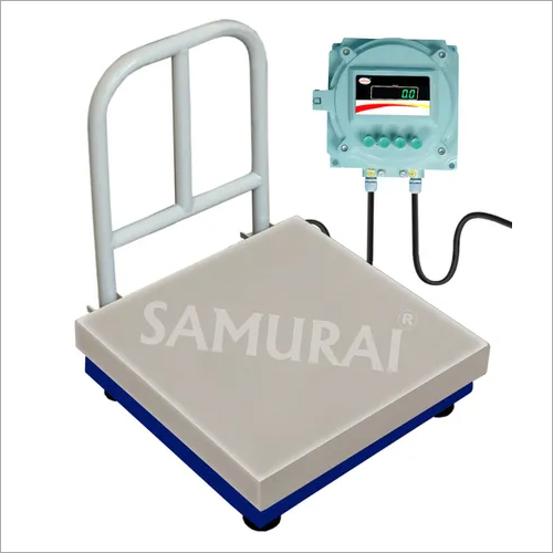 Low Profile Stainless Steel Platform Scale with ramp