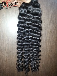 Machine Weft Deep Curly Hair