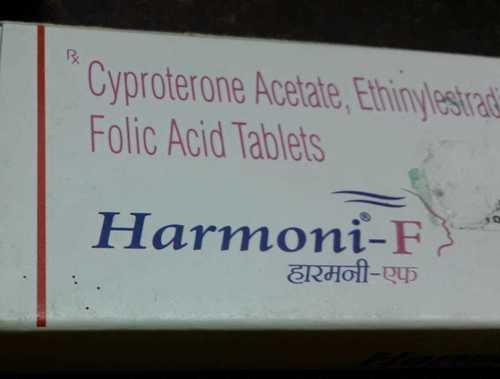 cyprote acetate ethinylestradiol folic acid tablets