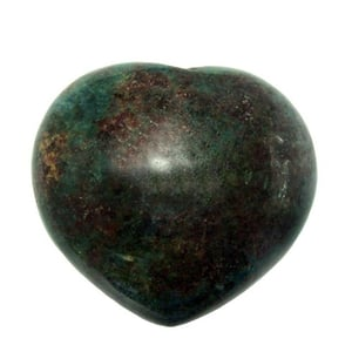 Satyamani Natural Ruby Kyanite  Gemstone Heart Puff