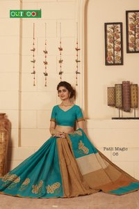 Embrodery Saree