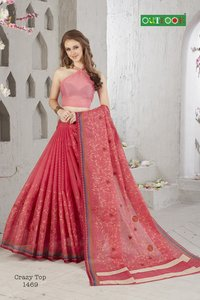cotton embrodery saree