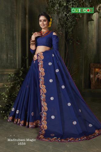 Madhubani Cotton Saree