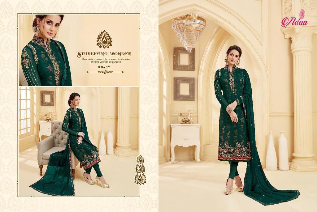 Wedding Georgette Designer Suits