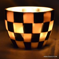 SEAP GLASS DECOR VOTIVE
