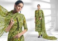 Digital Printed Silk Suits