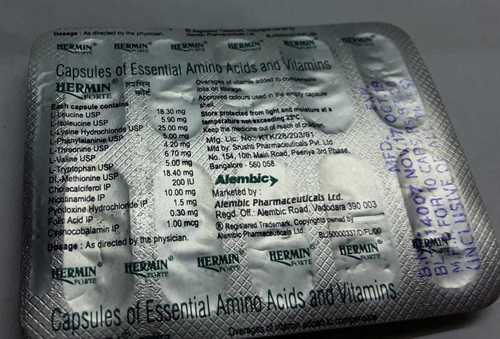 essential amino acids vitamin
