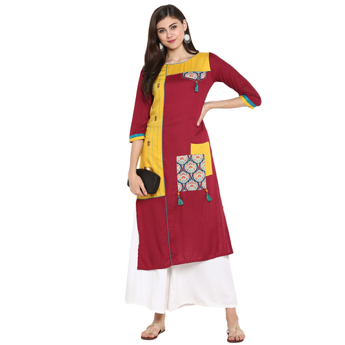 Double Layer Kurtis