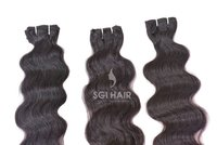 Indian Temple Machine Weft Body Wavy Hair