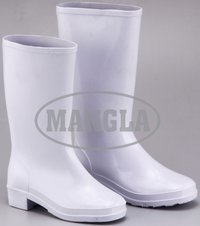 Gold Year White Gum Boot