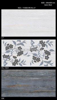 Wooden Ceramic Digital Wall Tiles