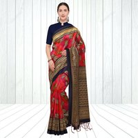Indian Mysore Silk Saree